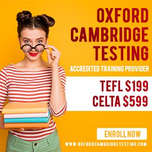 Oxford Cambridge Testing, ESL certification